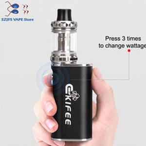 vape kit built -in 2200mah electronic cigarette hookah vaper smoking vaporizer Ekfiee100w box mod with 3.0ml atomizer 510 thread
