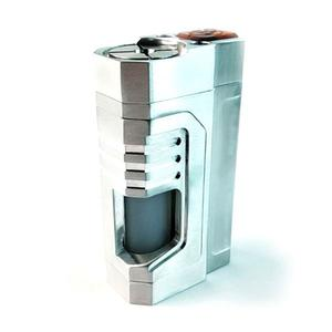 Reactor Style 18650 Squonk Mechanical  - Silver