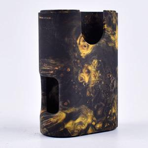 ARM Style Stable Wood Mod for ArM Squonk 18650 Mechanical Mod by Shenray - STYLE 7