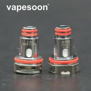 50pcs RP40 Coil mesh 0.4ohm triple 0.6ohm SC 1.0ohm Quartz 1.2ohm Replacement Coil For RPM40 Kit Fetchh mini Pod Kit