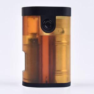 Pre-sale ArM Style 18650 Squonk Mechanical Mod Upgraded Version by  - Yellow
