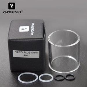 Original  VECO PLUS Glass Tube for 4ml  VECO Plus tank Atomizer Replacement Glass for E-cig vaping
