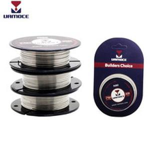 VAMOCE RDA Heating Wire E Cigarette Coil Tool Nichrome Wire Ni80 Kanthal A1 SS316L 24GA 26GA For Rda Rta Vape Atomizer
