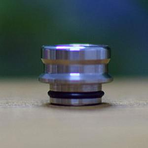 Dee Mods Shorty V2 Style 510 Drip Tip (1PCS) - Silver