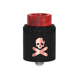 Bonza V1.5 24mm RDA  w/ BF Pin - Copper wrinkle painted black