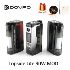 Original DOVPO Topside Lite 90W Mod powered by single 21700/20700 battery Electronic Cigarette 510 Thread Atomizer vape