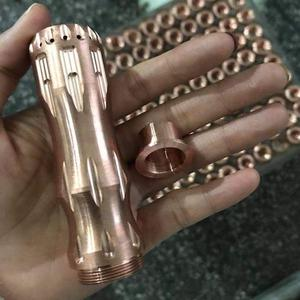 overload Style 18650/20700/21700 Mechanical Mod - Copper