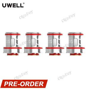 4 x   CROWN 4 IV Coil Head 0.4ohm