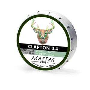 Clapton 04 Prebuilt Coils for Vape 0.4 Ohm Kanthal Wire Premade 20 Piece AKATTAK