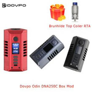 Electronic Cigarette  Odin DNA250C  powered by dual 21700 batteries  510 Thread vape tank vs Gen Mod