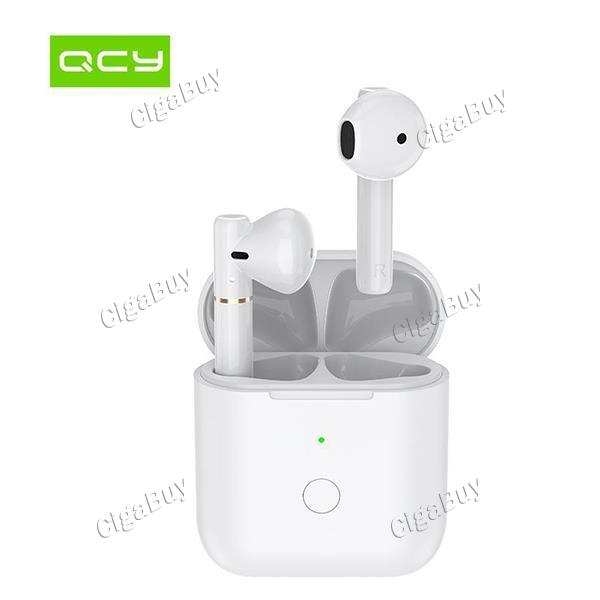 QCY T8 Wireless Bluetooth Semi-in-ear Headphones APP Control Large Battery