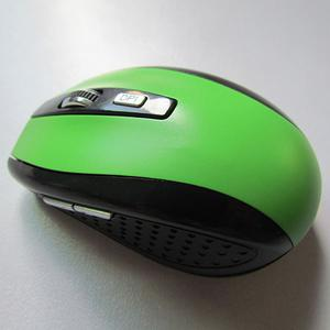 2.4G 6D 7500 wireless mouse - Green