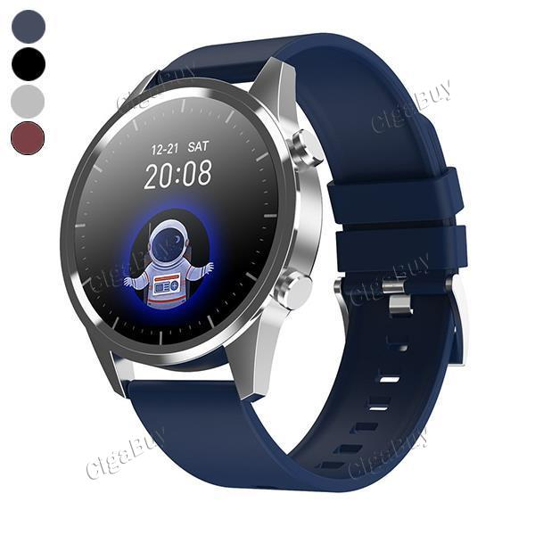 F35 Smart Watch Bluetooth Call Heart-Rate Blood Pressure Full Round Watch