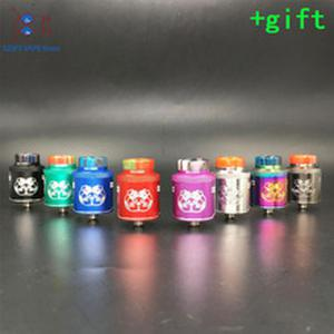 Drop Dead V2 RDA 24mm diameter with 14 Side Airflow Holes & BF Squonk Pin VS Dead Rabbit SQ RDA e-cig vape tank