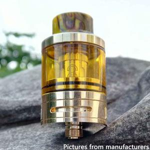 MSM TOP  3.5ml 24mm Sub Ohm Tank Clearomizer - Gold