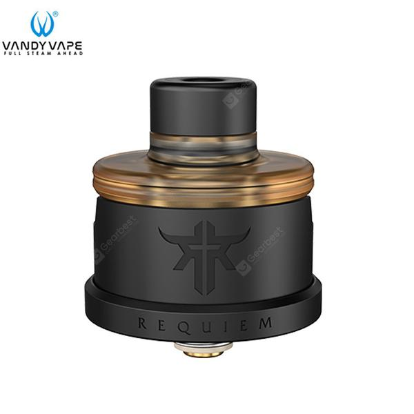 Requiem RDA Tank 3 Air hoods DL RDL MTL VandyVape Single Coil Deck Electronic Cigarette Atomizer Vaporizer