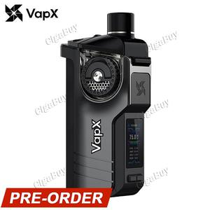 VapX Geyser 100W Pod Kit Without Battery - Stardust Gray