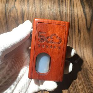 Supercar Squonk  with single 18650 battery wood material
