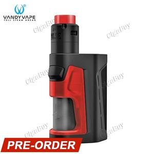 Pulse Dual 220W Squonker Kit - Black Red