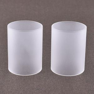Replacement Glass Tank 5.0ml for SRG V4 Atomizer by ShenRay (2PCS) - Frosted Transparent color