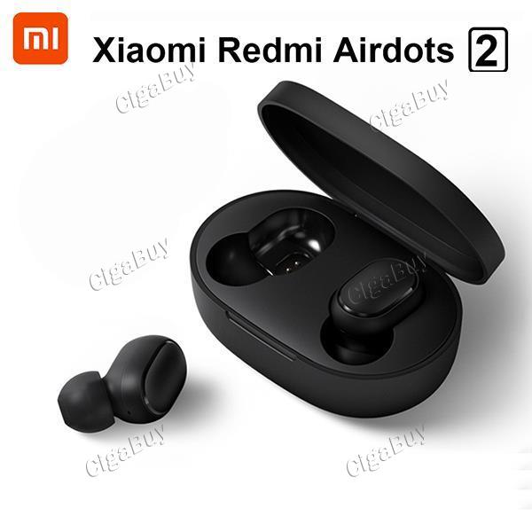 Xiaomi Redmi Airdots 2 TWS Bluetooth Wireless Earphone Stereo Bass Earbuds
