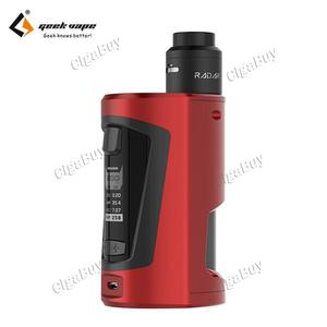 GBOX Squonker 200W 8ML Kit - Wine Red
