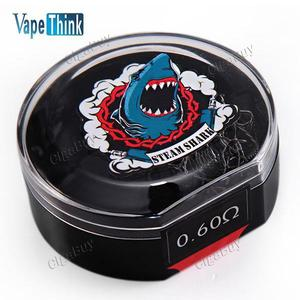 10 x  Vapethink Twisted Prebuilt Coil 0.6Ohm 28 & 28GA