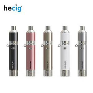 Original Hecig Honour Wax Pen & Dry Herb Vaporizer 1400mAh Muti Function 2 in1 Wax and Dry Herb Vape Pen E cig Kit Smok Vapor