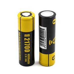 Original  AVB 21700 Battery for istick pico 21700 mod High Drain Rechargeable 4000mah 30A Electronic Cigarette Battery 2pcs