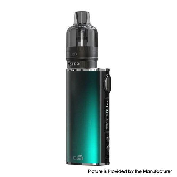 (Presale)    iStick T80 Kit 3000mAh 80W  with GTL Pod Tank - 1~80W, 4.5ml, 0.4ohm / 0.8ohm - Gradient Aqua