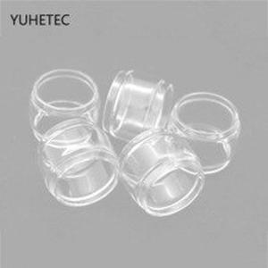 5pcs YUHETEC Replacement Fat Glass Tank for GeekVape Zeus Dual 5.5ml bubble glass Fatboy Tube