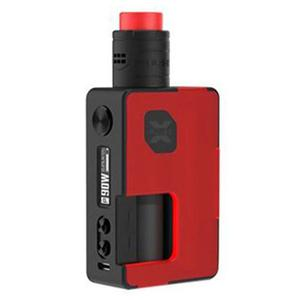 Pulse X 90W BF Squonk TC VW  Kit  w/ 8.0ML Bottle - Frosted Red