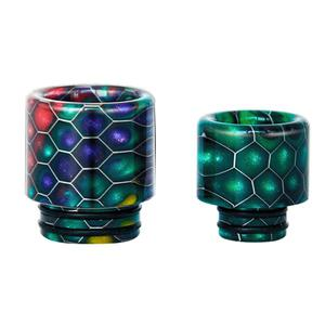 C1 Replacement 510 Resin Drip Tip + 810 Resin Drip Tip (2PCS) - Random Color