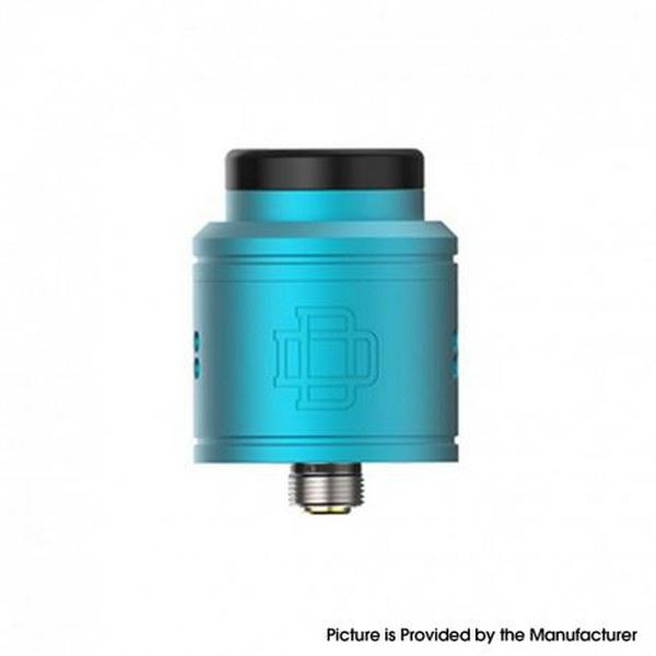 DRUGA 2 BF RDA Rebuildable Dripping Vape Atomizer - Aluminum + SS, 24mm - Blue