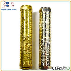 e-cigarette KING V2 Mech Mechanical Mod 510 Thread 183500 18500 18650 Battery Electronic Cigarette Vaporizer Vapor Vape Body