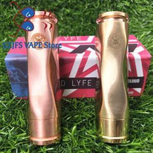 AV Medieval Gyres Mod kit 18650 Battery 510 thread 25mm connection Mech Mod Brass Material Mechanical Mod vape mod vs AV M1P5