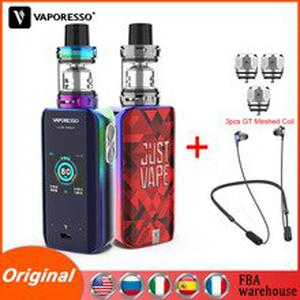 Original  Luxe Nano Kit Electronic Cigarette Vape With 2500mAh Battery SKRR S Mini Tank 3.5ml QF Coil Vapour Cigarette