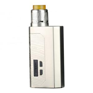 Luxotic MF  BF Squonk  w/ Guillotine V2 Atomizer Kit w/ 7.0ML Bottle  (Without Screen Version) - Silver