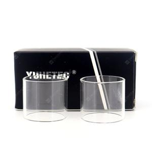 YUHETEC Atomizer Replacement Glass Tank for TFV16 2PCS