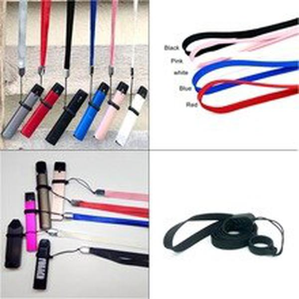 E cig Electronic Cigarette Accessories Lanyard Pouch Holder Necklace Finger Silicone Ring For Vape Nordd Orion Pen Ego Aio Pod
