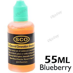 SCO 55ml Blueberry Flavor E-liquid 8mg Nic