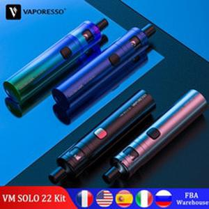 Vape Pen VM SOLO 22 Kit with 2000mAh Built In Battery Tank for EUC MESHED Coil Original Vapour Electronic Cigarette
