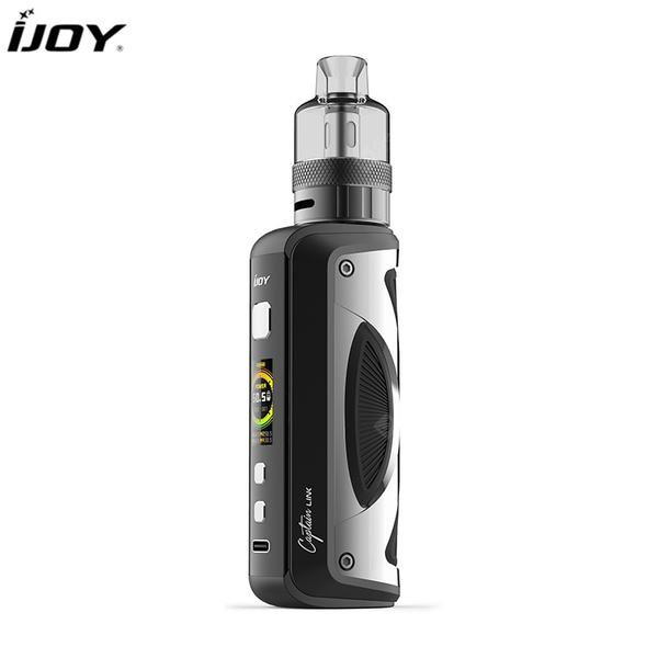 IJOY Captain Link Kit 100W Output Powered by Single 18650/21700 Battery 5ml Captain Link Pod Tank Univ S 2.0 Chipset