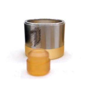Replacement Tank Tube+ 510 Drip Tip Kit for KF Prime Nite Style RTA - Gold