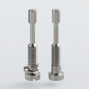 Replacement 316SS Tight Airflow Pins for Spica Pro MTL Atomizer by  (2PCS) - Silver