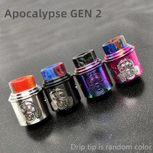 Apocalypse GEN 2 RDA Atomizer RDA 24mm 22mm Rebuilding Dripping Tank with squonk BF PIN for 510 Electronic Cigarette BOX Mod