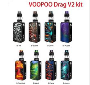 DRAG V2 Kit  5ml Uforce T2 Tank Uforce U2 N3 Coil 177W Max Output Electronic Cigarette Vs Voopoo Drag Mini