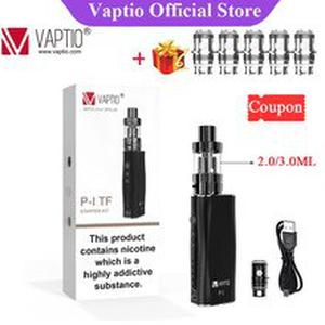 Gift  P1/P1 TF vape Kit with 2100 mAh Built in Battery 2/3ml Tank and 510 Thread Electronic Cigarette kit
