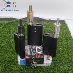 e cigarette Flask DNA  with 50W temperature control for Dual 18650 battery large smoke dna 75 chip Think Vape Finder Box