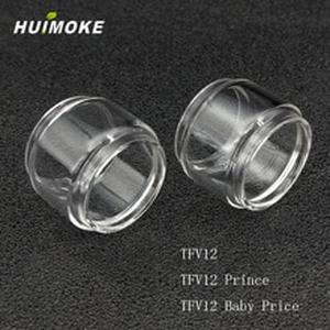 Pyrex Pure Glass Tube For 100% Original TFV12 and TFV12 prince  and  TFV12 Prince baby Atomizer including Straight or Fat Style